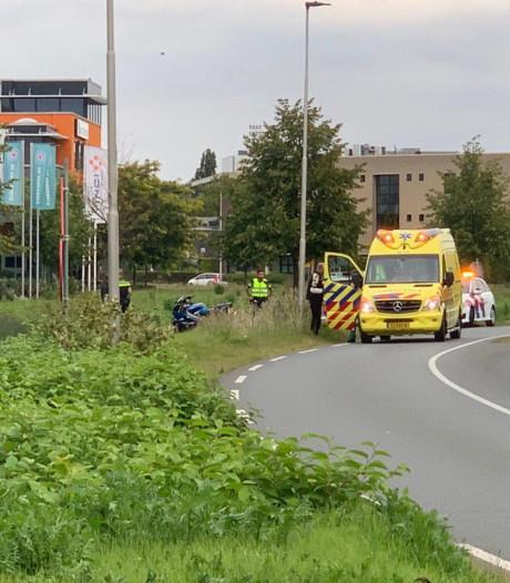 Passagier gewond doordat motor onderuitgaat in Doetinchem