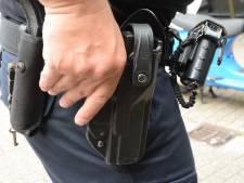 Agenten trekken wapens bij aanhouding in Goes