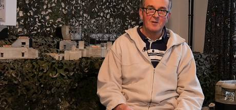Bunkers en betonmix: Leo (65) bouwt de hele zolder vol