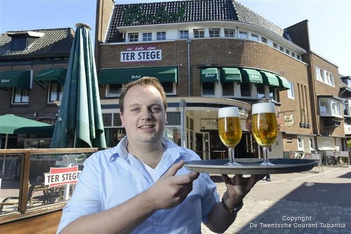 Bart Ikink voor Stadshotel Ter Stege.