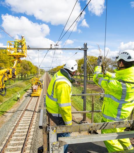 Spoor bij Deurne weer in gebruik na ongeval