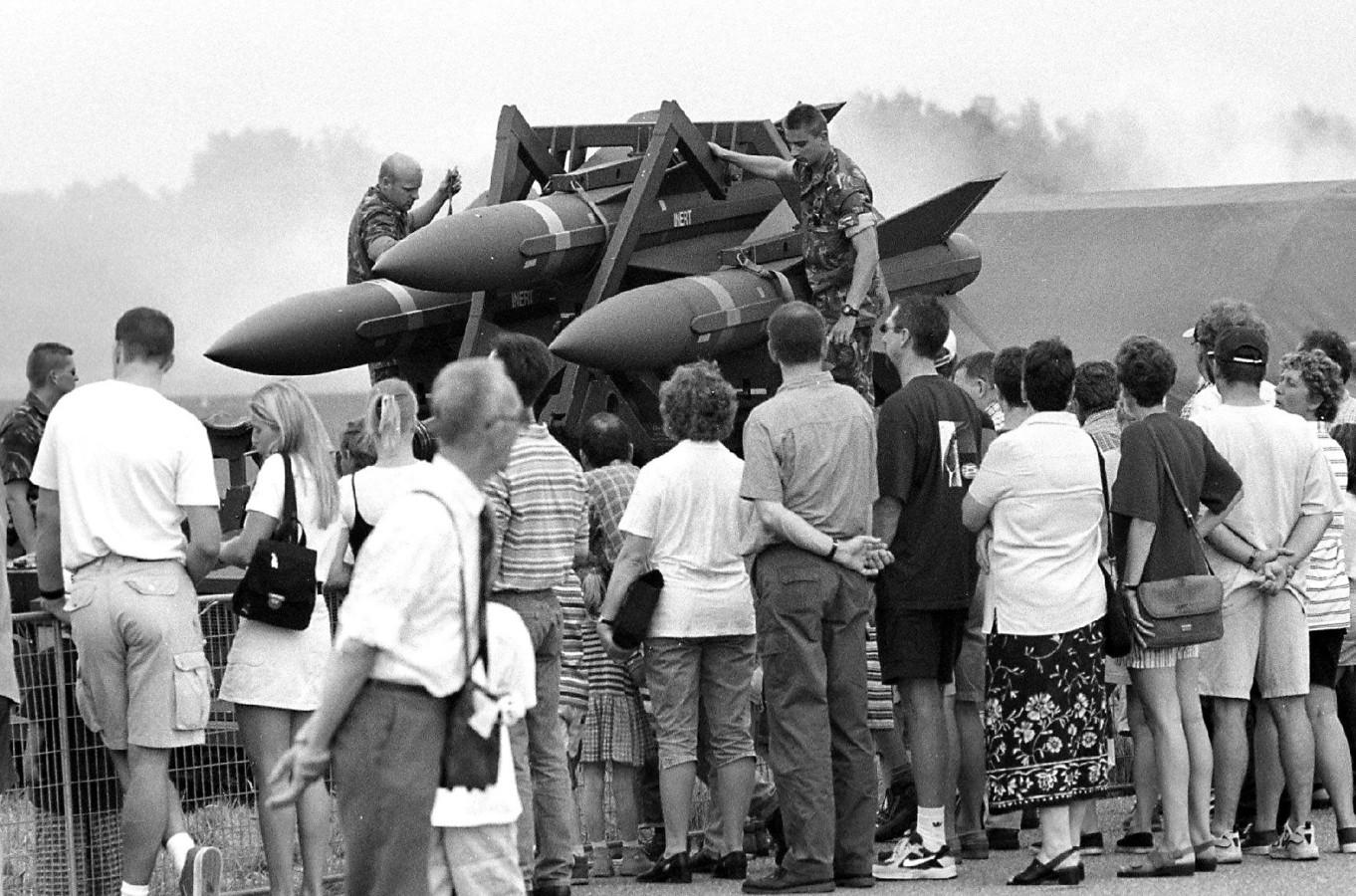 Open dag van de Groep Geleide Wapens op vliegbasis De Peel in 1999.