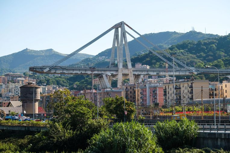 Op 14 augustus 2018 kwamen 43 mensen om het leven toen de Morandibrug in Genua instortte.
