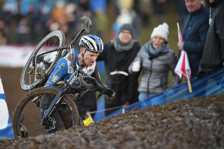 Tim Merlier werd zowel in Ronse, Overijse als Namen vijfde.