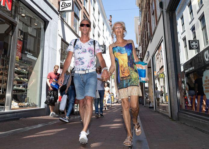 Jan Baars en Yolande Poth uit Alphen aan den rijn