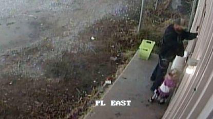 VIDEO. Man breekt in bij bloemist... terwijl zijn dochtertje bij hem is