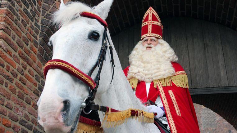 Sinterklaas en het gouden hoefijzer Beeld