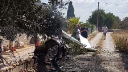 Helikopter en vliegtuigje botsen boven Mallorca: vijf doden