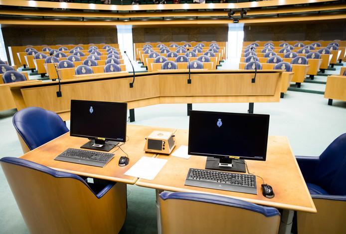 Er valt de komende maanden niet meer over veel te vergaderen in de grote zaal van de Tweede Kamer.