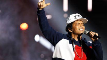 "Bruno Mars steunt protest in Hawaï: ""Ik sta achter je"""
