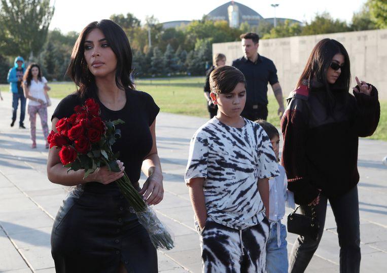 Kim Kardashian in Armenië.