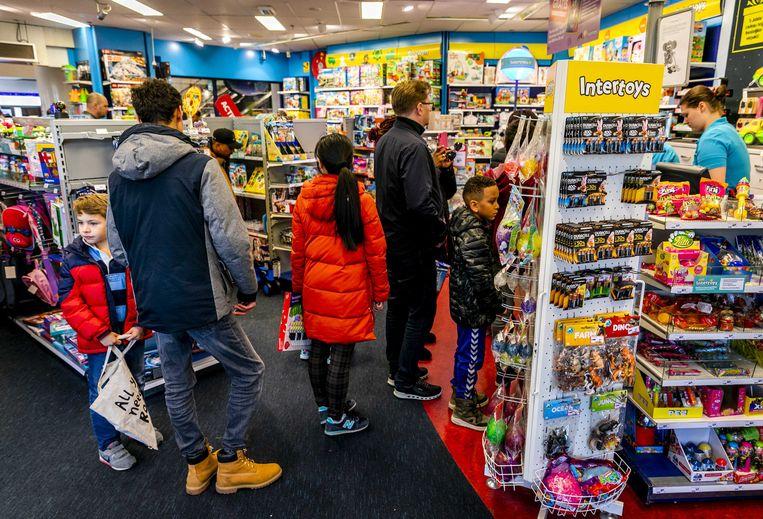 Een filiaal van Intertoys in Scheveningen. Beeld ANP