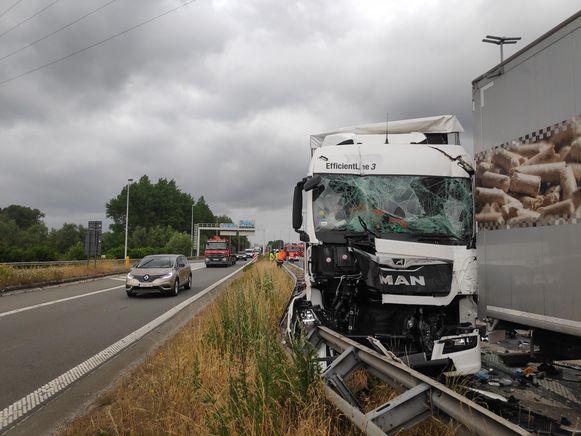 Ongeval Destelbergen.