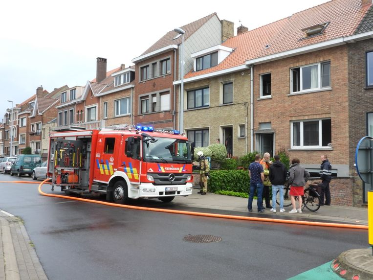 Brand Karel de Floustraat Brugge