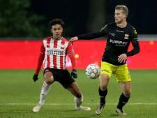 Jong PSV staat na inhaalrace met lege handen