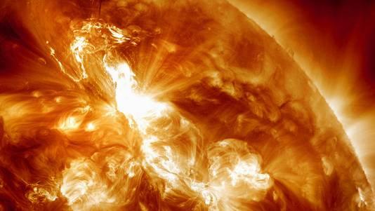L'éruption solaire était la plus forte enregistrée depuis le 13 mai 2005.