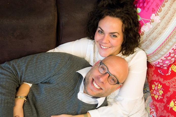 Patty en Bram, bekend van 'Married at First Sight', zijn heel gelukkig samen. En maandag precies één jaar getrouwd.