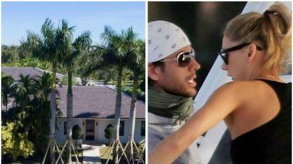 BINNENKIJKEN. Villa Enrique Iglesias en Anna Kournikova in Miami staat te koop