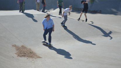 Skatepark heropent onder toezicht