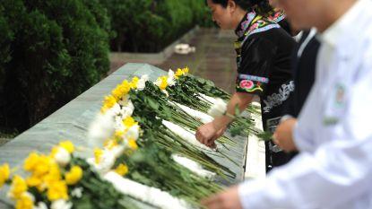 Doden en gewonden door aardbeving in China