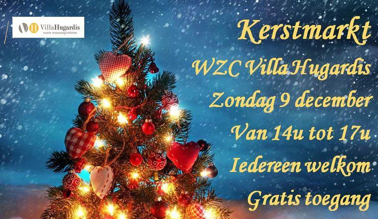 Kerstmarkt In Villa Hugardis Hoegaarden In De Buurt Hln