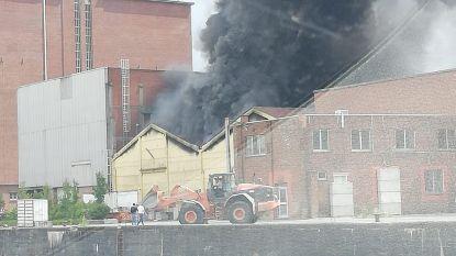 Dikke rook door brand bij Sidegro