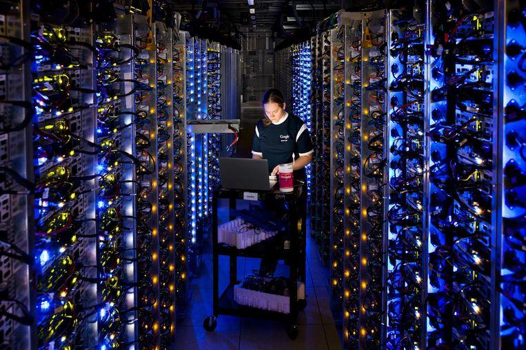 Datacenter van Google. Beeld AP