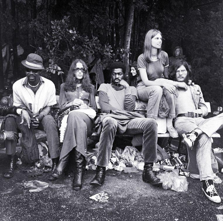 De 'Dutch Woodstock' werd het popfestival ook wel genoemd. Beeld Getty Images
