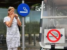 Sigaret dooft langzaam in zorgsector