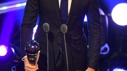 Courtois bekroond als beste keeper ter wereld