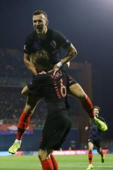 Kroatië neemt revanche op Spanje