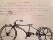 Jeroen uit Nijverdal werd uit huis gezet, raakte dakloos en nu is zijn fiets foetsie