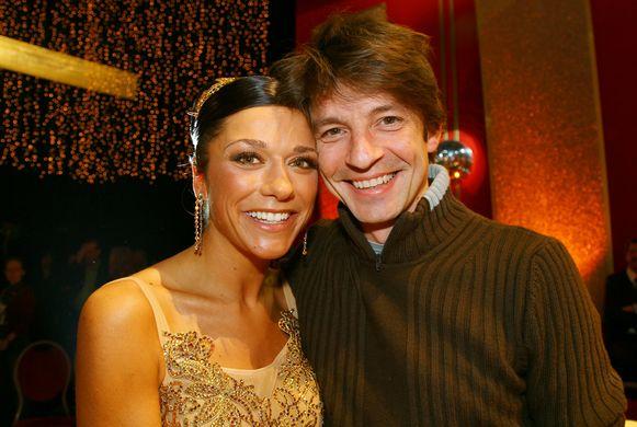 In 2007, toen Valerie deelnam aan 'Sterren Op De Dansvloer'.