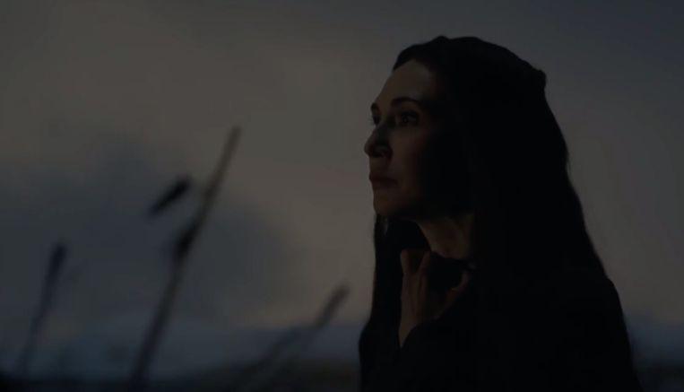 Melissandre heeft haar doel bereikt, het is tijd om te sterven.