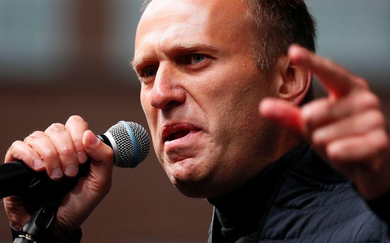Kremlin-criticus Alexej Navalni was ook aanwezig.