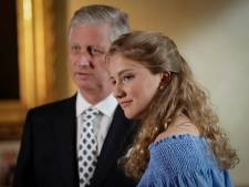 La princesse Elisabeth entre à l'École royale militaire