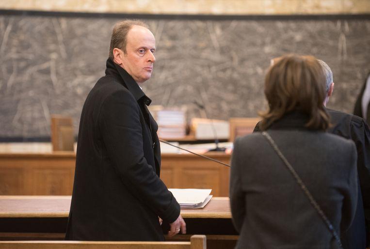 Archieffoto - Tom Browaeys tijdens zijn proces in Oudenaarde, waar hij de vrijspraak kreeg.