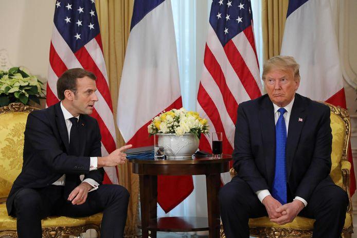 Emmanuel Macron et Donald Trump, le 3 décembre 2019.