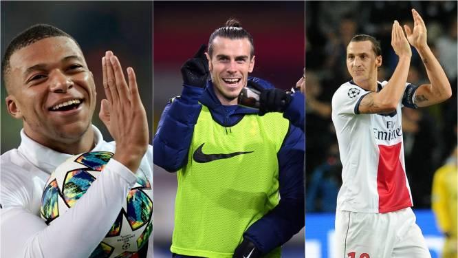 De sterren laten sterretjes zien op Belgische velden: zet Bale zich in rijtje met Zlatan en Mbappé?