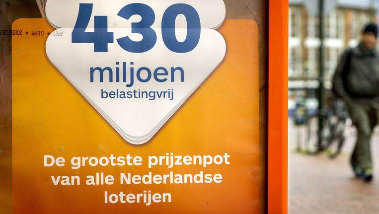 Het winnende lot werd verkocht op de Haarlemmerdijk. Beeld anp