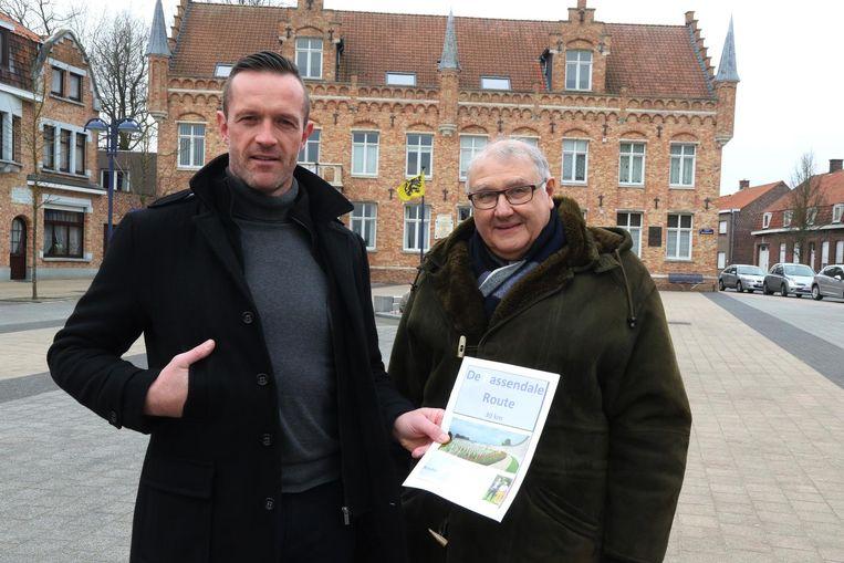 William Doom en Paul Vanlerberghe, de initiatiefnemers van De Passendale Route.