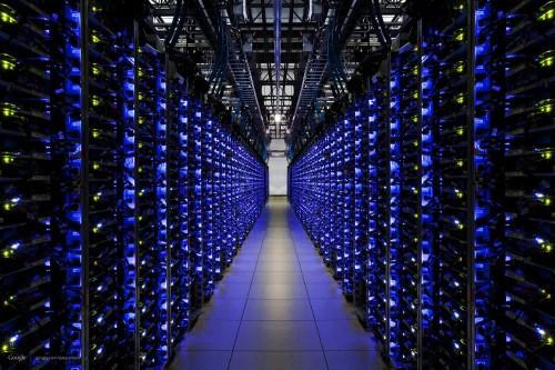 Google data center in de Verenigde Staten