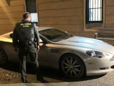 Oplichter (34) maakt 'testritje' met peperdure Aston Martin in Boxtel, maar crasht tegen politieauto in Spanje