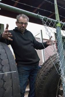 Staphorster ondernemer jaagt op truckbandenbende