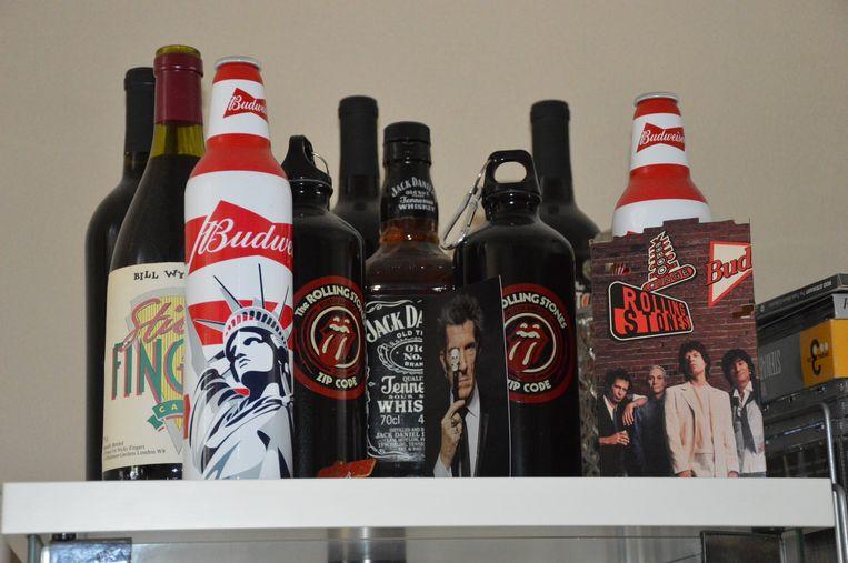 Luc Van der Hoeven heeft zelfs drank van The Rolling Stones.