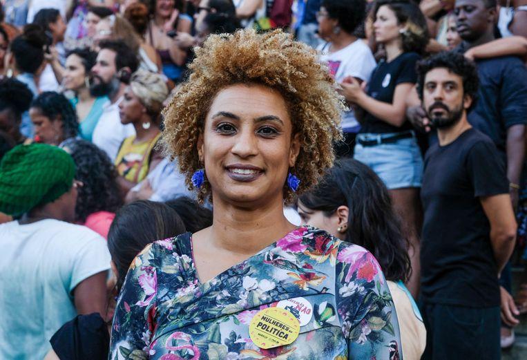 Marielle Franco werd vermoord op 14 maart 2018.