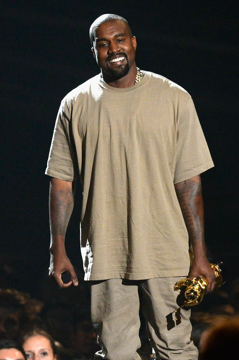 Kanye West. Beeld AFP