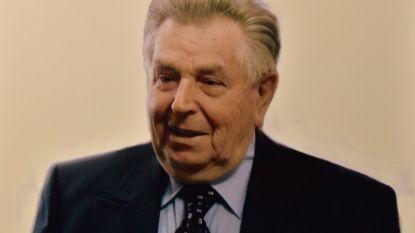 Honderden mensen nemen afscheid van Roger Eeckhout (90) na tragisch ongeval met trein