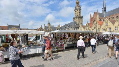 Woensdag opnieuw markt in Veurne, maar niet op de Grote Markt