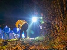 Vaten met vermoedelijk drugsafval gevonden in Bergeijk